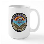 North Slope Borough PD Large Mug