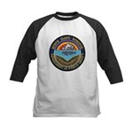 North Slope Borough PD Kids Baseball Jersey