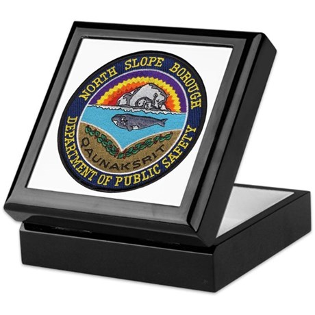 North Slope Borough PD Keepsake Box
