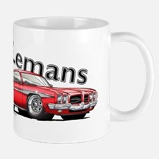 Red Pontiac Lemans Mug