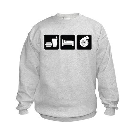 Eat Sleep Boost Kids Sweatshirt