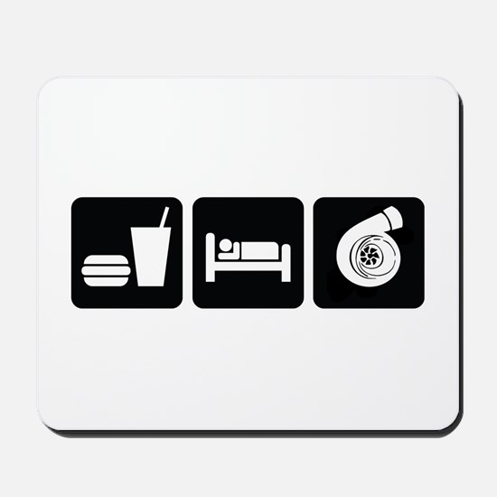 Eat Sleep Boost Mousepad