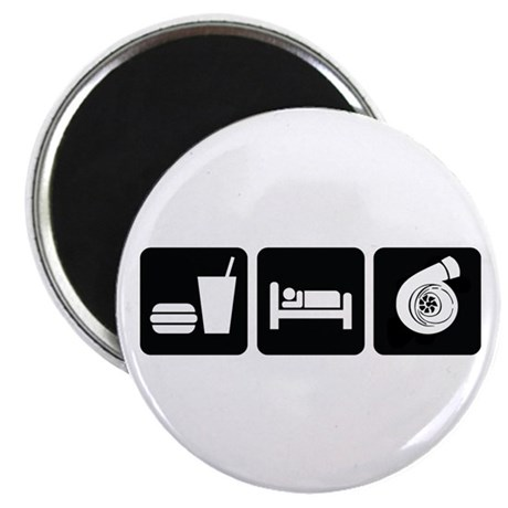 Eat Sleep Boost Magnet