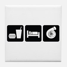 Eat Sleep Boost Tile Coaster