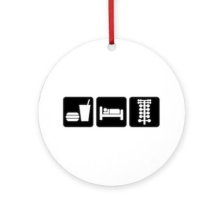Eat Sleep Drag Ornament (Round)