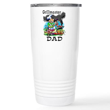 Grillmaster Dad Stainless Steel Travel Mug