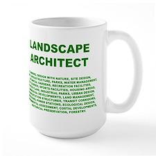 What a Landscape Architect Does - Mug
