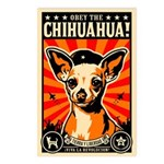 Chihuahua Revolution - Postcards (Package of 8)