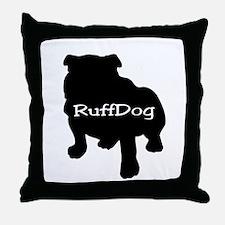 RuffDog Throw Pillow