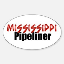 Mississippi Pipeliner 3 Oval Decal