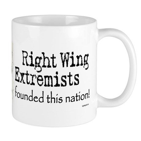 RWExtremists founded nation Mug