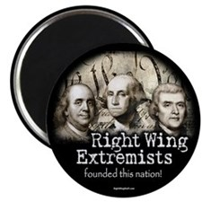 "RWExtremists founded nation 2.25"" Magnet (10 pack)"
