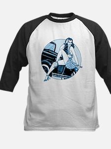 RH Blue Car Pinup Tee