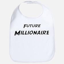 Future Millionaire Bib