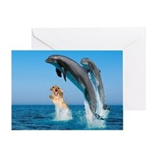 Swimming Greeting Card