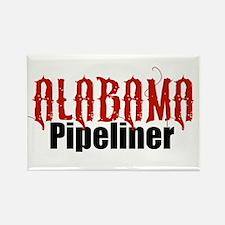 Alabama Pipeliner 3 Rectangle Magnet
