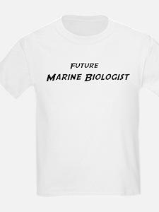 Future Marine Biologist Kids T-Shirt