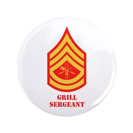 """Grill Sgt. 3.5"""" Button (100 pack)"""