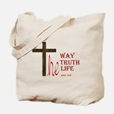 Funny Jesus the way and the truth and the life Tote Bag