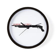 """Zombie Vaccine"" Wall Clock"