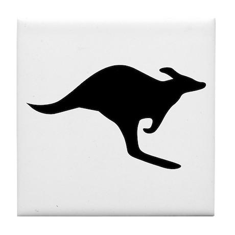 Kangaroo Tile Coaster