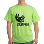 Moonsong Malamute Rescue Green T-Shirt