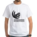 Moonsong Malamute Rescue White T-Shirt
