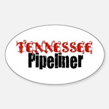 Tennessee Pipeliner 3 Oval Decal