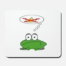 Sad Frog Prince Mousepad