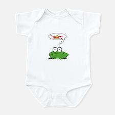 Sad Frog Prince Infant Bodysuit