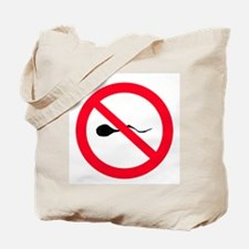 No Sperm Tote Bag