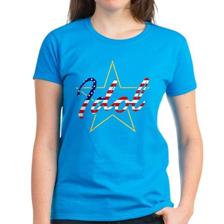 USA Idol Rock Star Women's Dark T-Shirt