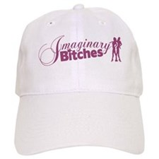 Bitches Baseball Cap (white/pink)