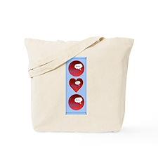 Uh Oh FlatlineTri-v Tote Bag