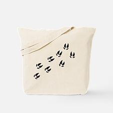 Pig Tracks Tote Bag