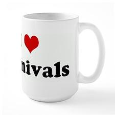 I Love Carnivals Mug