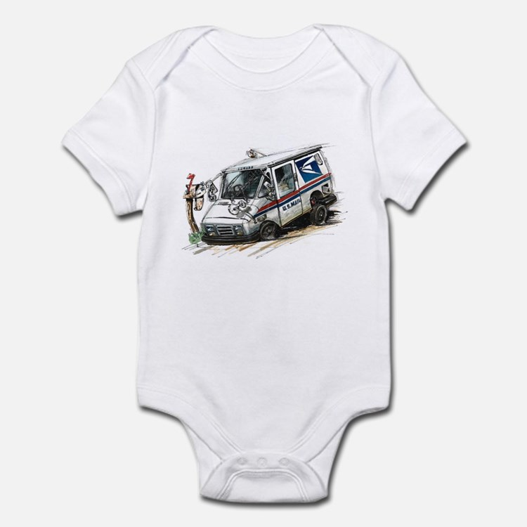 AAHHH - The Mail's In Infant Bodysuit
