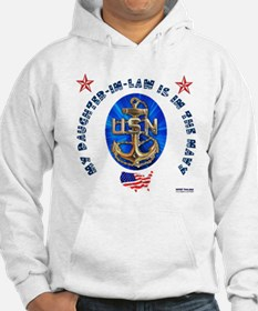 Navy Daughter-In-Law Hoodie