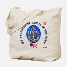 Navy Daughter-In-Law Tote Bag