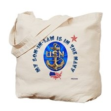 Navy Son-In-Law Tote Bag