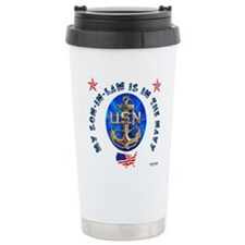 Navy Son-In-Law Travel Mug