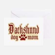 Dachshund Mom Greeting Cards (Pk of 20)