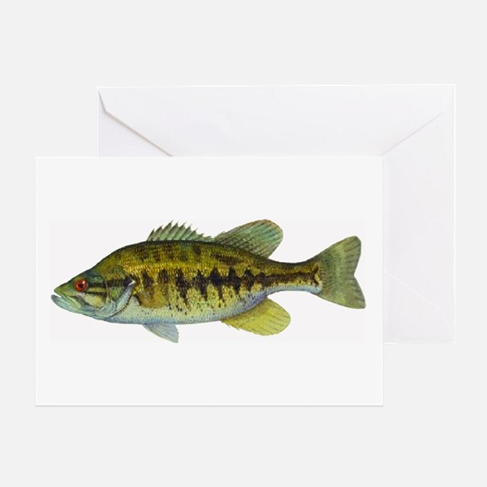 Smallmouth Bass Greeting Card