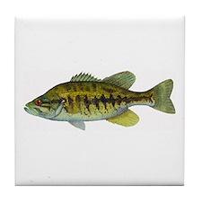 Smallmouth Bass Tile Coaster