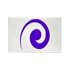 Wave Rectangle Magnet (100 pack)