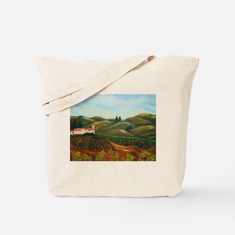 Napa Vineyards Tote Bag