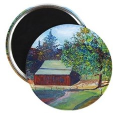 Country Barn Magnet