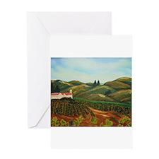 Napa Vineyards Greeting Card