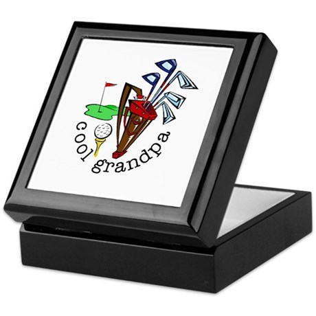 GOLF GRANDPA Keepsake Box