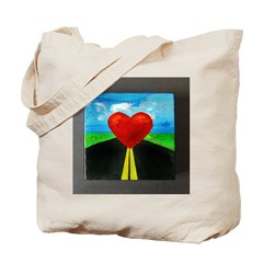 My Heart's on the Line Tote Bag